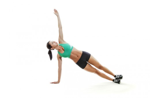 Extended Arm Side Plank