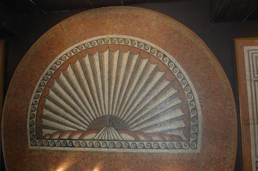 Roman mosaic from Verulamium Museum