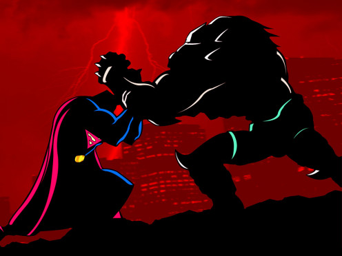 Superman is outmatched in almost every aspect yet he continued to fight against Doomsday.