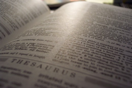 A thesaurus can be an invaluable tool for finding the right word while editing a document.  A good synonym for bright is sunny, for example.  Tools of the trade.