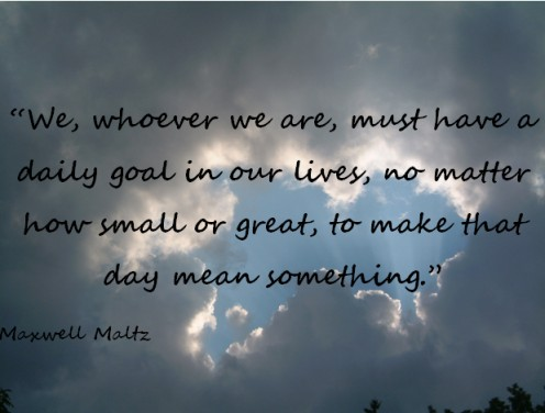 A quote by Maxwell Maltz