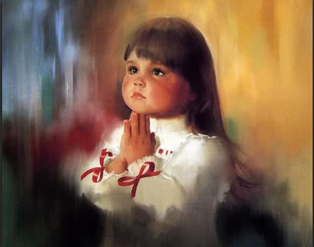 Teach the children divine reassurance.~PRAY