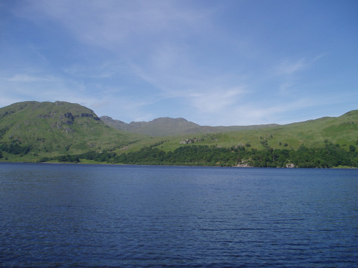 "Loch Katrine, the setting for Scott's ""The Lady of the Lake"""