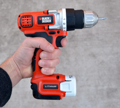 Cordless Drill Review | Black and Decker LDX112C 12V Lithium