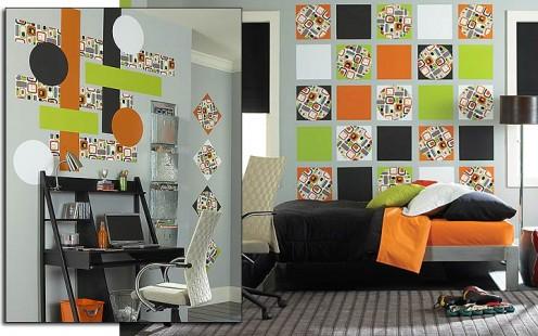 Wall Pops! vinyl tiles