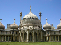 The Prince Regent's fantasy palace at the seaside.