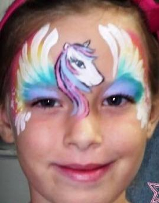 Horse Face Painting For Kids Source Facepaintingbraen