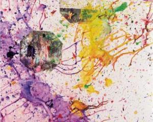 Shozo Shimamoto Proof of Peace Au 27, 2008