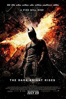 Theatrical poster for The Dark Knight Rises (2012)