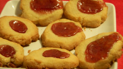 Jam-Filled Crater Cookies