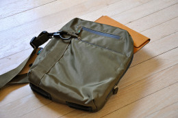 Sling Bag with Apple Device Inside
