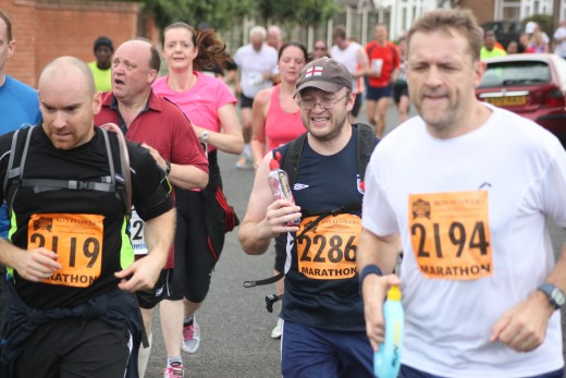 Running events are a great way to give focus to your weight loss aims and a fantastic opportunity to make like-minded friends with similar outlooks