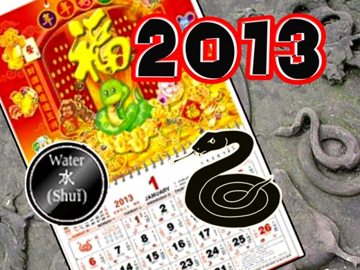 Chinese New Year of The Snake Begins February 10, 2013 to January 30, 2014