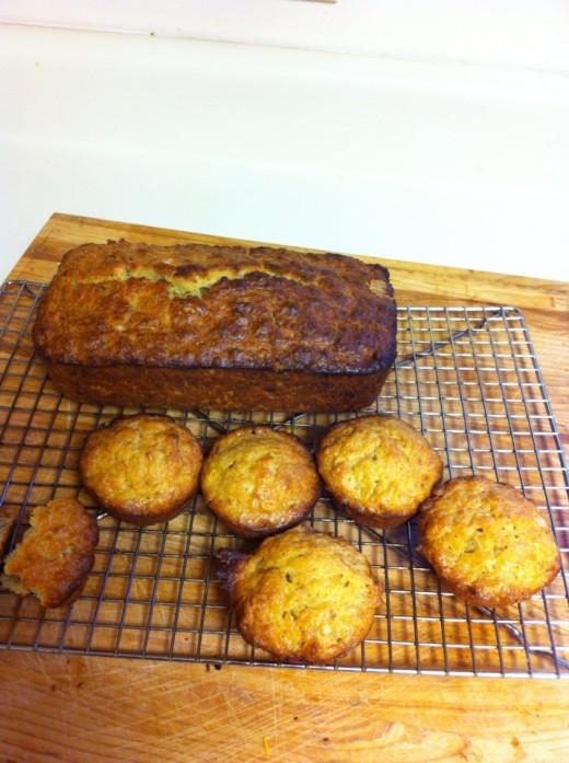 My recipe for the best, moist buttermilk banana bread.