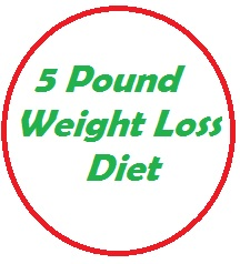 You can average 5 pounds a week in weight loss with this diet.