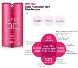 Skin 79's most popular product: Hot Pink Super+ BB Cream.