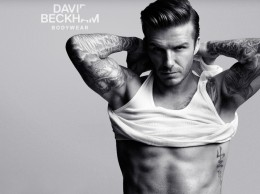 Beckham always looks good!