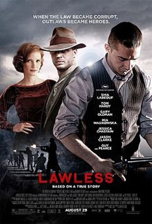 Theatrical poster for Lawless (2012)