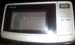 A Sharp microwave oven