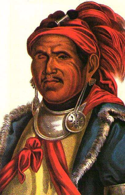 The Prophet was the half brother of Tecumseh & a spiritual leader