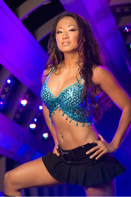 Former WWE Diva and Former TNA Knockout Gail Kim