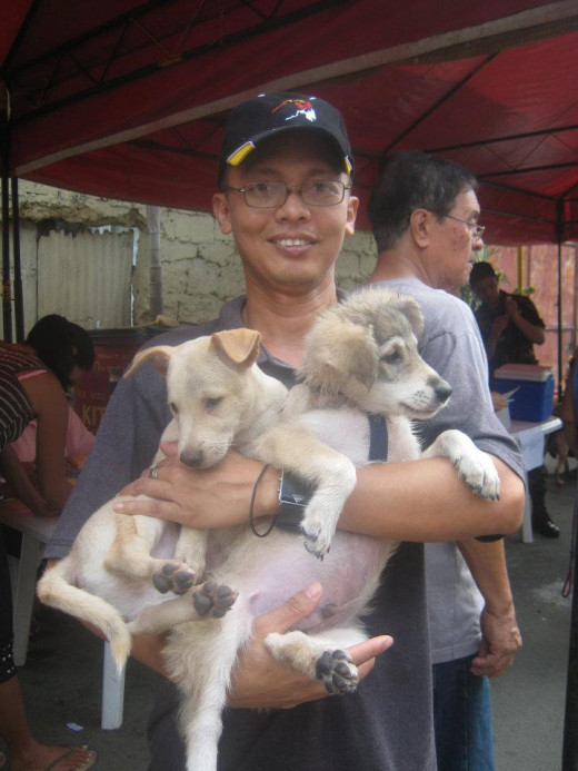 Anti-Rabies Campaign Day @ Don Galo, Parañaque City, PH (January 30, 2012)