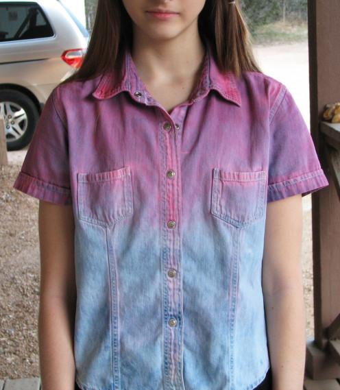 Rachel's cool new shirt