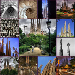 Antoni Gaudi - 7 Architecture works