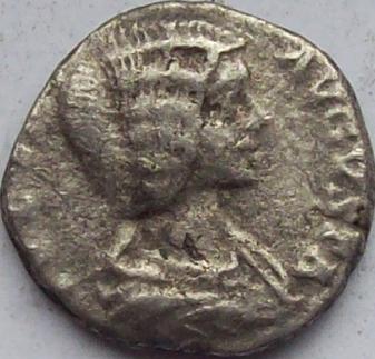 Julia Domna Silver Coin