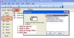 How to Create Queries Using Microsoft Access 2003