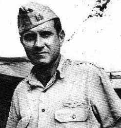 Louis Zamperini during WWII.
