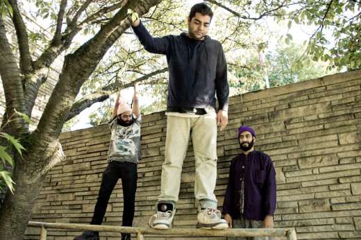 Internet Hip Hop superstars, Das Racist, a Latino and East Indian trio of unique socially-conscious artists who are a testament to the diversity of Hip Hop on the Internet.