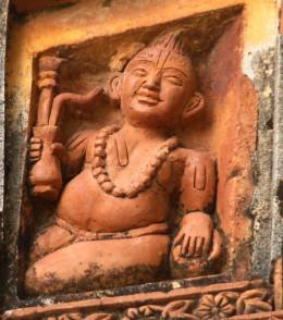 A Vaishnavite man with a hookah; Ajodhya