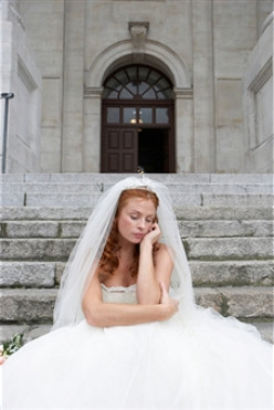 """On our wedding day she ran from the altar and was found outside the church singing """"Nobody Knows The Trouble I've Seen."""""""