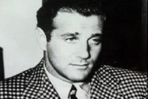Bugsy Siegel, notorious and a fascinating part of the history of Las Vegas.