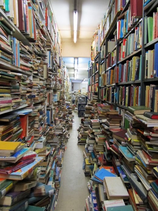 Endless books that you hopefully don't have to read
