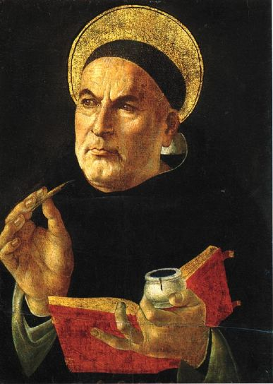 St Thomas Aquinas - Holy chap with a cracking line in ontological arguments so I hear...