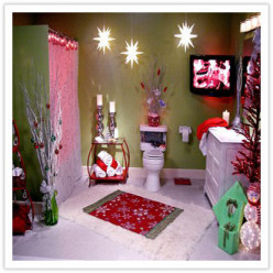 Christmas Special Bathroom Decor Suggestions for Festive Appeal