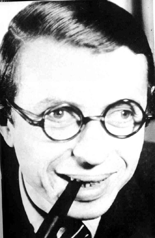 Sartre - Not the most handsome of chaps, but undeniably one of 20th century's mountain minds in pushing the philosophical envelope. He also convincingly repopularized the subject for a whole generation.