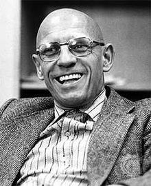 "Foucault - very clever ""genealogical"" post-Nietzschian philosopher. Famous for his indictments of man's treatment of the mentally ill through the ages and of the prison system/state that he termed the ""Panopticon""."