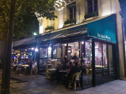 """Cafe """"Les Deux Magots"""""""