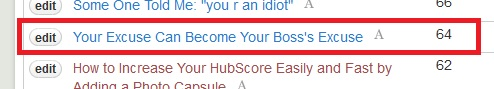 The Hub Score stayed the same. Screenshot taken on 12/25/2012