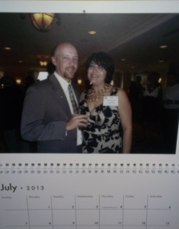 Zazzle lets you create custom gifts like this calendar for any occasion, including Valentine's Day.
