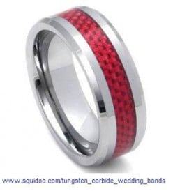 Advantages and Myths about Tungsten Carbide Wedding Bands