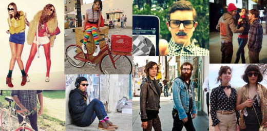 What kind of hipster are you? Find your inner hipster self with this post.