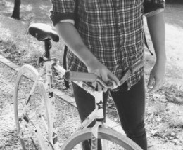 Hipsters are known to be eco-friendly. Embrace this quality and start riding a bike yourself.