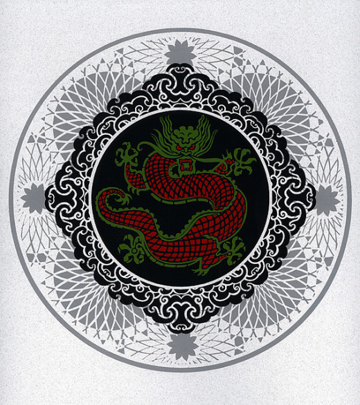 Dragon Mandala