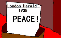 The British thought they could have peace with Nazi Germany.