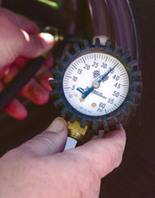 Typical tire gauge