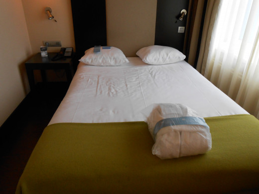 Double room at the NH Amsterdam Centre Hotel